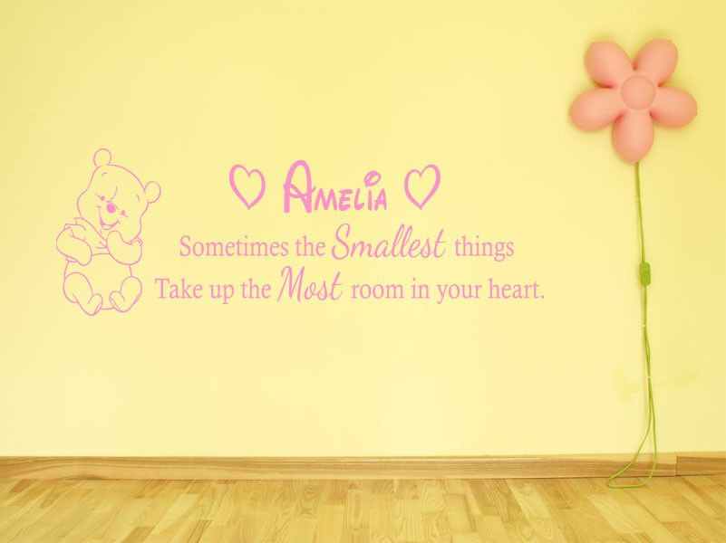 Modern Winnie The Pooh Quotes Wall Art Component - Wall Art ...